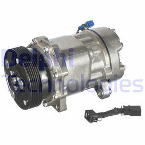 Klimakompressor Riemenscheiben-Ø: 119mm mit OEM-Nummer 1076012