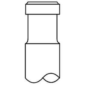 MAHLE ORIGINAL Auslaßventil 029 VA 30899 100 für AUDI 80 Avant (8C, B4) 2.0 E 16V ab Baujahr 02.1993, 140 PS