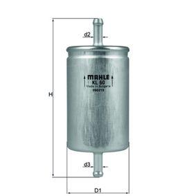 Kraftstofffilter Höhe: 139, 139,0, 140,0mm mit OEM-Nummer 1567 79