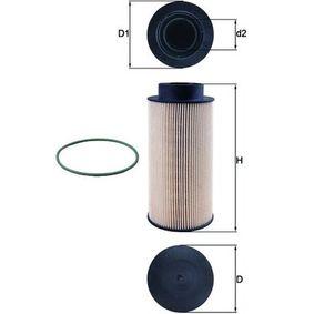MAHLE ORIGINAL  KX 182/1D Kraftstofffilter Höhe: 183,0mm