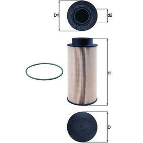 MAHLE ORIGINAL  KX 182D Kraftstofffilter Höhe: 183,0mm