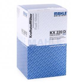 MAHLE ORIGINAL KX 220D 4009026601822