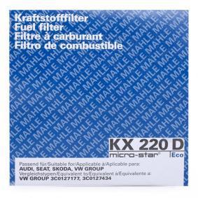 KX220D MAHLE ORIGINAL mit 21% Rabatt!