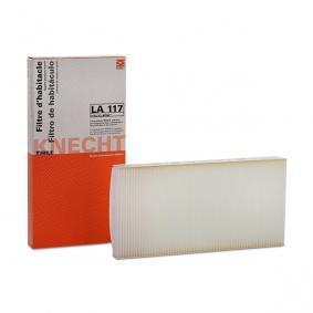 Filter, Innenraumluft Länge: 330mm, Breite: 163,0, 164mm, Höhe: 30mm mit OEM-Nummer 93 172299