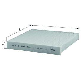 Filter, Innenraumluft Art. Nr. LA 119 120,00€