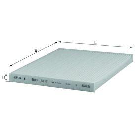 Filter, Innenraumluft Länge: 200mm, Breite: 220, 220,0mm, Höhe: 19mm mit OEM-Nummer 88568-02020