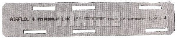 Artikelnummer LAO181 MAHLE ORIGINAL Preise