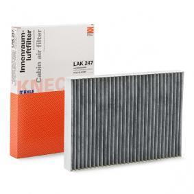 Filter, Innenraumluft Länge: 309mm, Breite: 213mm, Höhe: 30mm mit OEM-Nummer 4596501 AB