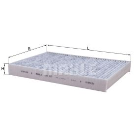 Filter, Innenraumluft Art. Nr. LAK 437 120,00€