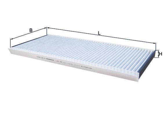 Innenraumfilter LAK 62 MAHLE ORIGINAL LAO62 in Original Qualität