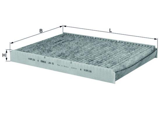 Staubfilter MAHLE ORIGINAL LAK63 4009026504970