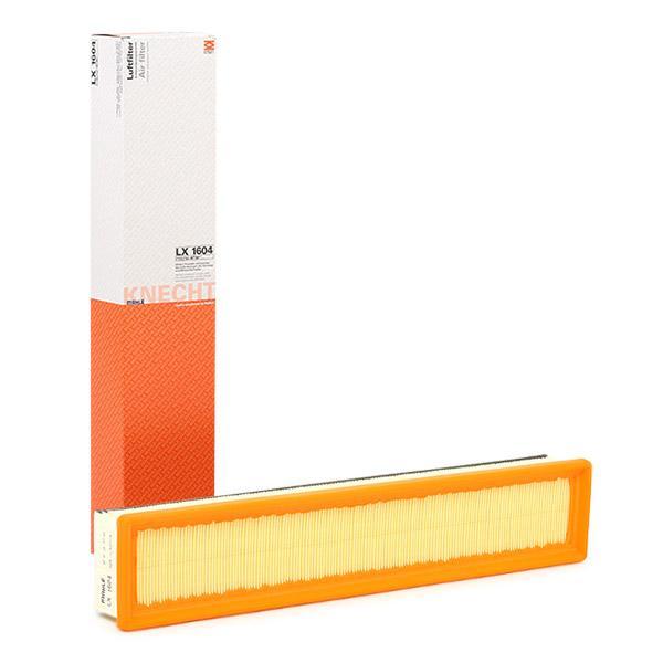Filter LX 1604 MAHLE ORIGINAL 79925227 in Original Qualität