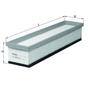 Luftfilter LX 2039 TWINGO 2 (CN0) 1.5 dCi Bj 2012