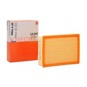 Luftfilter Breite 1: 178,0mm, Höhe 1: 57,3mm, Länge: 242,0mm mit OEM-Nummer 13721730449