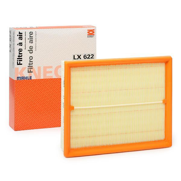 Luftfilter LX 622 MAHLE ORIGINAL 78796534 in Original Qualität