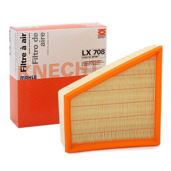 Filter LX 708 MAHLE ORIGINAL 79922116 in Original Qualität