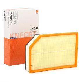 Luftfilter Breite 1: 215,6mm, Höhe 1: 62,3mm, Länge: 328,0mm mit OEM-Nummer 30741594