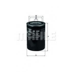 Ölfilter Innendurchmesser 2: 62mm, Innendurchmesser 2: 62mm, Höhe: 141mm mit OEM-Nummer 2862642 M 1