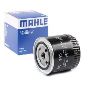 Ölfilter Innendurchmesser 2: 62,0mm, Höhe: 105,0mm mit OEM-Nummer 030115561D