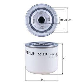 Ölfilter Ø: 93,2mm, Innendurchmesser 2: 62,0mm, Höhe: 81,0mm mit OEM-Nummer 46519728