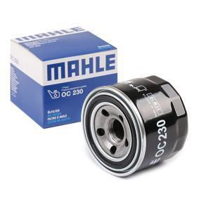 Ölfilter Ø: 76,0mm, Ø: 76,0mm, Höhe: 66mm, Höhe 1: 65mm mit OEM-Nummer MZ690900