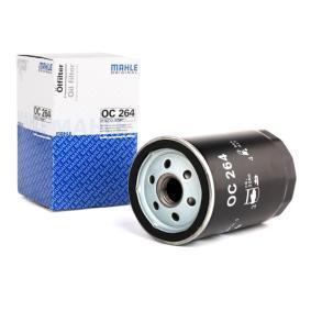 MAHLE ORIGINAL Ölfilter OC 264 für AUDI 80 (8C, B4) 2.8 quattro ab Baujahr 09.1991, 174 PS