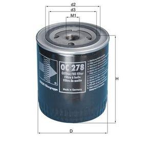 Ölfilter Ø: 93,0mm, Außendurchmesser 2: 71mm, Ø: 93,0mm, Innendurchmesser 2: 62mm, Innendurchmesser 2: 62mm, Höhe: 114mm mit OEM-Nummer 5 025 133