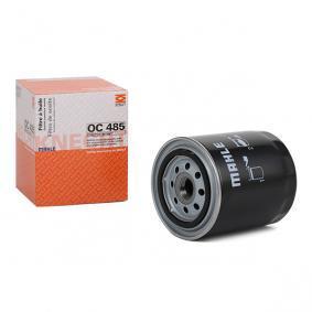 MAHLE ORIGINAL Ölfilter OC 485 für AUDI A4 Avant (8E5, B6) 3.0 quattro ab Baujahr 09.2001, 220 PS
