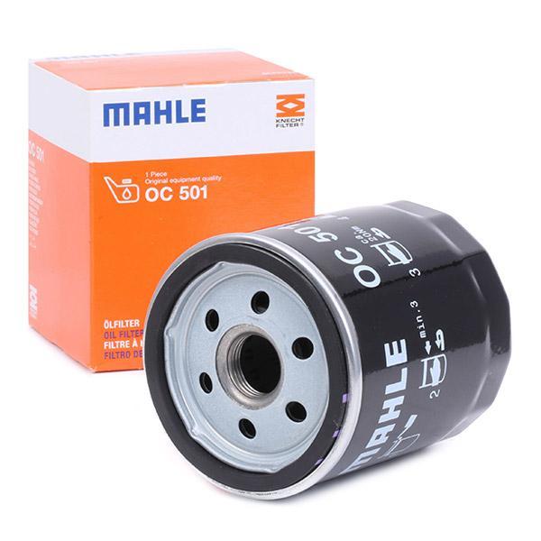 Motorölfilter OC 501 MAHLE ORIGINAL 76832455 in Original Qualität