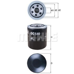2021 KIA Sorento jc 2.5 CRDi Oil Filter OC 540