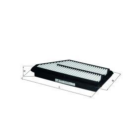 Filtre à huile Ø: 76,0mm, Diamètre intérieur 2: 62,0mm, Hauteur: 119,5mm avec OEM numéro 5000273