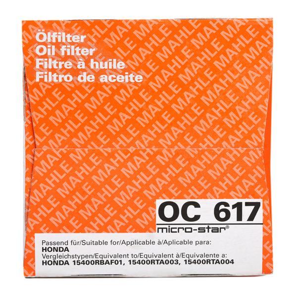 OC 617 MAHLE ORIGINAL mit 24% Rabatt!