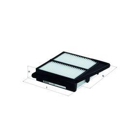 Filtro de aceite Diámetro exterior 2: 70,0mm, Diám. int. 2: 63,0mm, 62,0mm, Altura: 142,6mm con OEM número 5 004 552