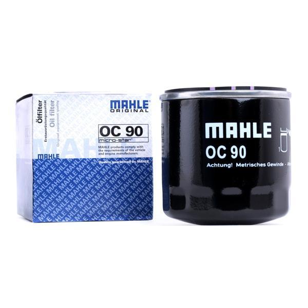 Filtro de Aceite MAHLE ORIGINAL OC90 conocimiento experto