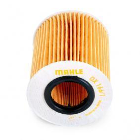 Ölfilter Innendurchmesser 2: 31,5mm, 31,50mm, Höhe: 80,3mm, Höhe 1: 76,4mm mit OEM-Nummer 11 42 7 619 319