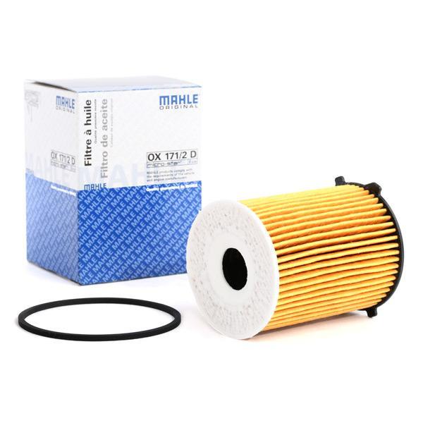MAHLE ORIGINAL маслен филтър вложка на филтър  OX 171/2D