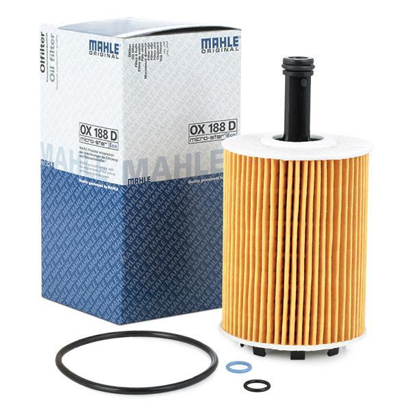 Engine oil filter MAHLE ORIGINAL OX188 rating