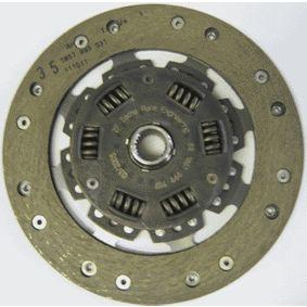 Kupplungsscheibe Zähnez.: 24, Ø: 210mm mit OEM-Nummer 6 64 259