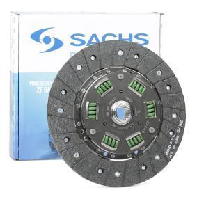 SACHS (ZF SRE) Kupplungsscheibe 881861 999802 für AUDI COUPE (89, 8B) 2.3 quattro ab Baujahr 05.1990, 134 PS