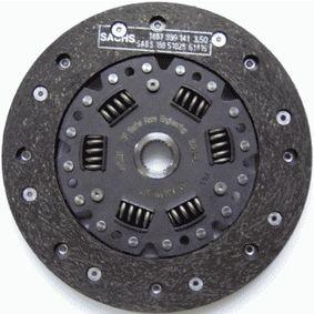 Kupplungsscheibe Zähnez.: 24, Ø: 200mm mit OEM-Nummer 6 64 144