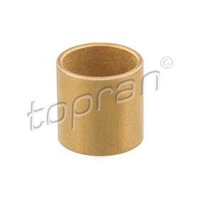 TOPRAN Buchse, Starterwelle 100 053 für AUDI 80 (81, 85, B2) 1.8 GTE quattro (85Q) ab Baujahr 03.1985, 110 PS