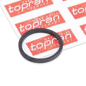 TOPRAN Dichtring, Einspritzventil 100 677 für AUDI 80 Avant (8C, B4) 2.0 E 16V ab Baujahr 02.1993, 140 PS
