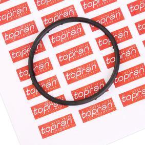 TOPRAN Dichtung, Kühlmittelflansch 100 722 für AUDI A4 (8D2, B5) 1.9 TDI ab Baujahr 03.2000, 116 PS