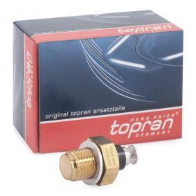 TOPRAN Kühlmitteltemperatur-Sensor 100 853 für AUDI 100 (44, 44Q, C3) 1.8 ab Baujahr 02.1986, 88 PS