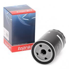 TOPRAN Ölfilter 101 090 für AUDI 100 (44, 44Q, C3) 1.8 ab Baujahr 02.1986, 88 PS