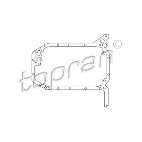 TOPRAN Dichtung, Ölwanne 101 593 für AUDI 80 (8C, B4) 2.8 quattro ab Baujahr 09.1991, 174 PS