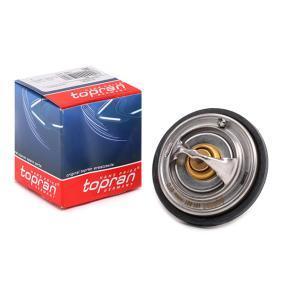 TOPRAN Thermostat, Kühlmittel 101 601 für AUDI A6 (4B2, C5) 2.4 ab Baujahr 07.1998, 136 PS
