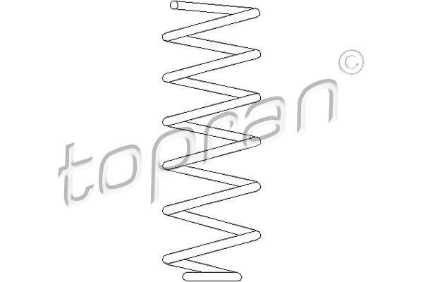 TOPRAN  102 603 Coil Spring