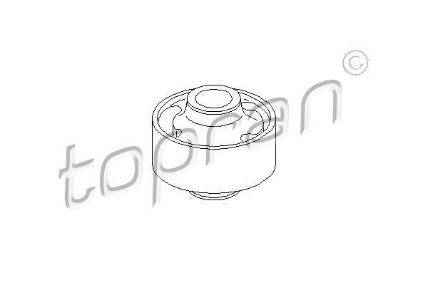 TOPRAN  102 775 Lagerung, Lenker Ø: 60mm, Innendurchmesser: 17mm