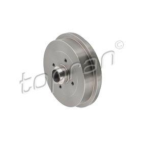 Bremstrommel Felge: 4-loch mit OEM-Nummer 6U0 501 615B